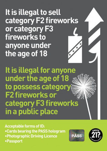 Picture of A3 Statutory Firework Notice