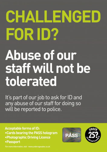 Picture of Challenge for ID? Abuse to Staff