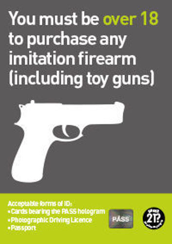 Picture of Over 18? Purchase of a Imitation Firearm.