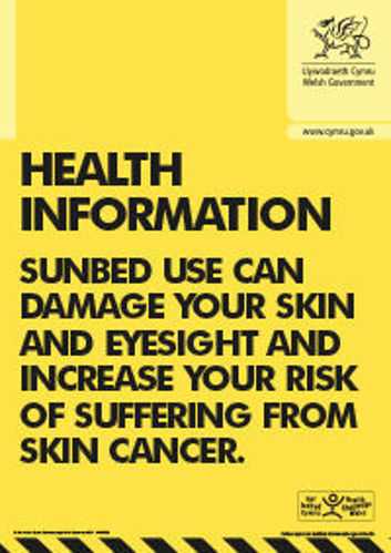 Picture of Sunbed Health Information