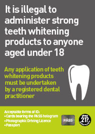 Picture of Teeth Whitening Products Poster