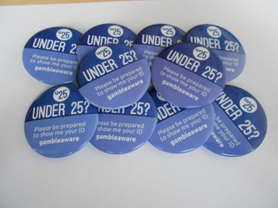 Picture of Think 25 Gambling Badges