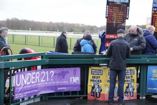 Picture of Under 21? Vinyl Gambling Banner