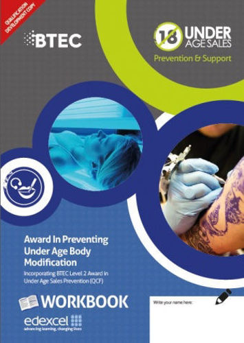 Picture of Award in Preventing Under Age Body Modification