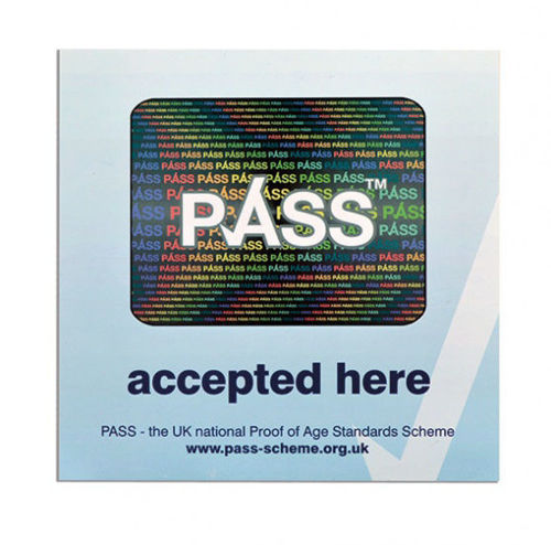 Picture of PASS - STICKER