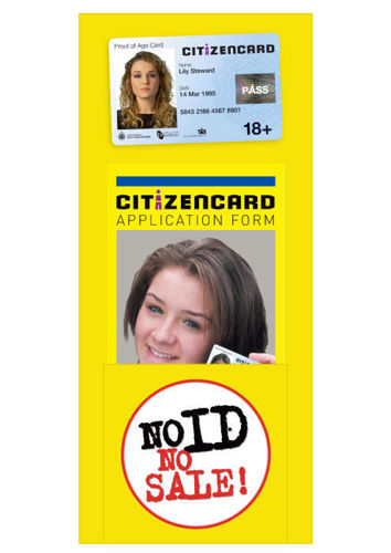 Picture of DL Citizencard Leaflet Dispenser