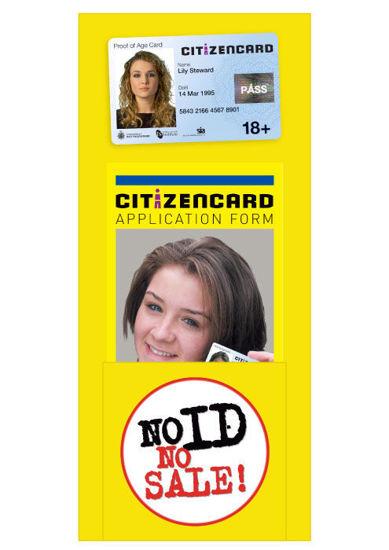 Picture of DL Citizencard Leaflet Dispenser