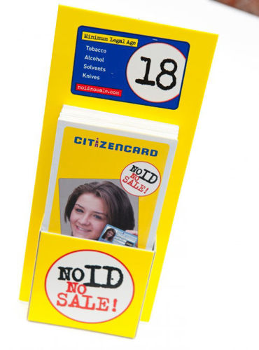 Picture of DL Citizencard Leaflets x 10