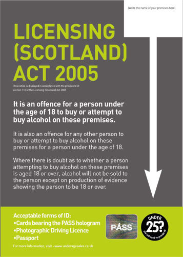 Picture of Statutory Licensing (Scotland) Act 2005