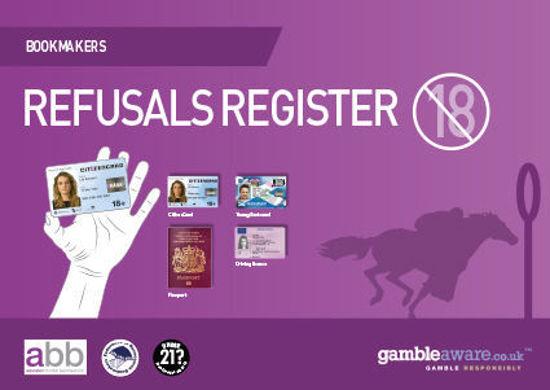 Picture of Refusals Register for Gambling Operators