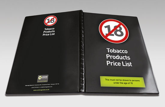 Picture of Tobacco Product Folder
