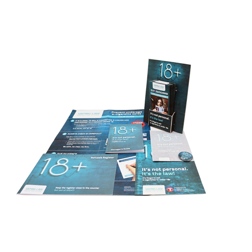 18 + Vape - Retailer Toolkit - Complete - Age Check Certitication Scheme