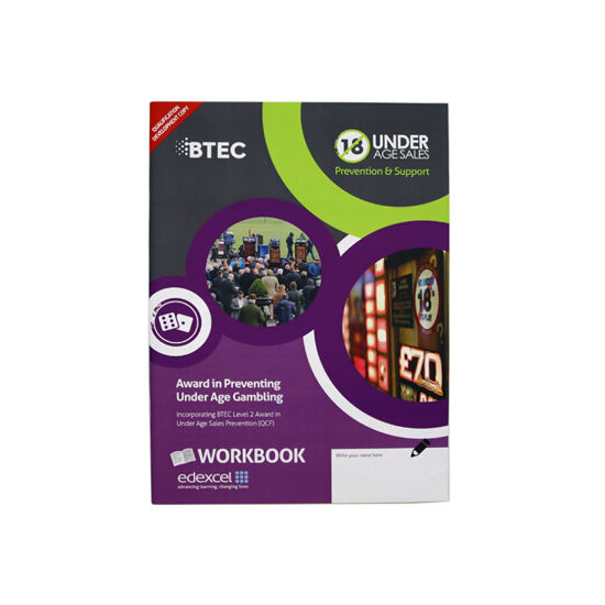 Award in Preventing Under Age Gambling | BTEC Level 2  | ACCS