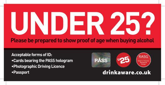 Picture of DL- Under 25? Buying Alcohol - Shelf Slider