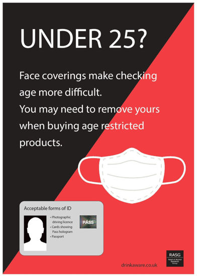 Picture of Remove face masks when buying age restricted products